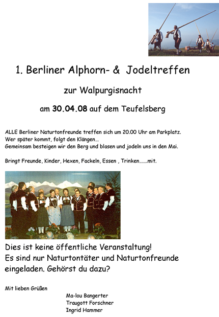 Alphorntreffen 2008