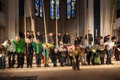 """2017 - 4. Berliner Naturtonfestival - Gäste:  """"Baka Beyond"""", Balthasar Streiff und Mamadou Mbaye"""